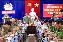 Thứ trưởng Phạm Dũng kiểm tra công tác Công an tại Quảng Nam