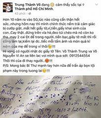 Sao Việt liên tiếp bị cướp giật tại Sài Gòn