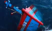 5 ngư dân trên tàu cá Quảng Ngãi bị chìm đã vào bờ an toàn