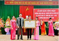 Trường Mầm non Lương Sơn – Thường Xuân (Thanh Hóa): Xứng danh trường chuẩn Quốc gia