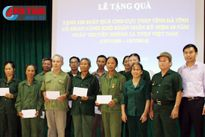 Trao quà cho 120 cựu TNXP khó khăn ở Hà Tĩnh