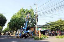 Đảm bảo an toàn trong vận hành, cung ứng điện mùa mưa bão