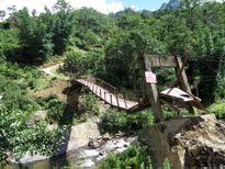 Nhiều cầu treo ở Lào Cai xuống cấp nghiêm trọng