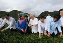 Tổng Bí thư Nguyễn Phú Trọng thăm, làm việc tại Lai Châu