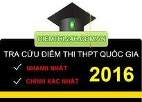 Xem điểm thi THPT Quốc Gia 2016 của 70 cụm thi Đại học