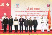 Chủ tịch nước Trần Đại Quang dự lễ kỷ niệm 70 năm Ngày truyền thống Thi hành án dân sự