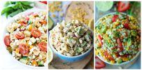 Những công thức trộn salad giúp bạn xua tan mùa Hè nóng bức