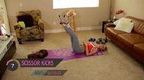 8 phút tập thể dục giảm cân nhanh, săn chắc vóc dáng sau sinh