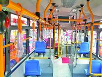 Nhận diện luồng tuyến xe buýt bằng màu sơn