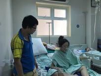 Lý Nhã Kỳ tặng 50 triệu đồng cho Thiếu úy Đậu Thị Huyền Trâm