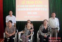 24.378 lượt người khuyết tật và trẻ mồ côi được trợ giúp