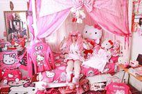 Gặp cô nàng mê Hello Kitty điên cuồng