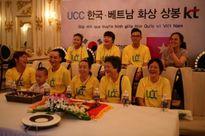 Cô dâu Việt lấy chồng Hàn Quốc được đoàn tụ trực tuyến với gia đình