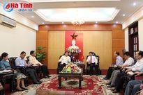 Tăng cường hợp tác toàn diện giữa Thủ đô Viêng Chăn và Hà Tĩnh
