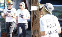 Kristen Stewart bị bắt gặp hôn đắm đuối người tình đồng tính