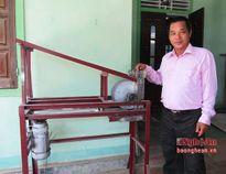 Máy cắt đá lạnh của người thợ quê được Bộ KHCN công nhận