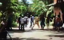 Thượng úy CSGT bị vây đánh hội đồng, trên đường tuần tra