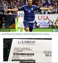 Juventus gây sốc, bỏ 79 triệu bảng chiêu mộ Higuain