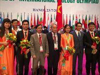 Việt Nam giành 4 huy chương tại Olympic Sinh học quốc tế