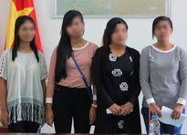 Bốn cô gái miền Tây được giải cứu khỏi quán cà phê Campuchia