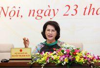 Chủ tịch Quốc hội Nguyễn Thị Kim Ngân: 'Đổi mới mạnh mẽ hoạt động của Quốc hội'