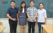 Vũ Thị Chinh giành Huy chương Vàng Olympic Sinh học quốc tế 2016
