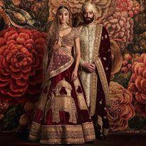 Trang phục cưới lạ mắt của các cặp đôi trên thế giới
