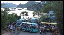 Tiết lộ sốc: Tài xế xe điện 'kiêm' môi giới mại dâm trên đảo Cát Bà