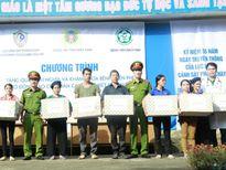 Cục Cảnh sát PCCC và CNCH về nguồn, tri ân anh hùng thương binh, liệt sỹ