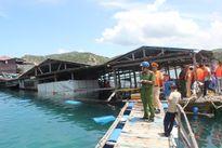 Sập nhà hàng nổi ở Ninh Thuận: Thông tin mới nhất