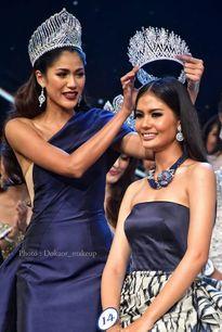 Lộ diện nhan sắc tân Hoa hậu Hoàn vũ Thái Lan 2016