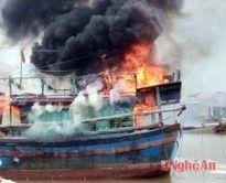 Nghệ An: 7 người chết do tai nạn tàu cá