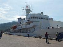 Tàu huấn luyện KOJIMA Nhật Bản cập cảng thăm Đà Nẵng
