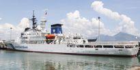 Đà Nẵng: Tàu lực lượng bảo vệ bờ biển Nhật Bản cập cảng Tiên Sa