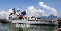 Tàu huấn luyện của Nhật Bản thăm Đà Nẵng