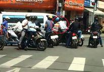 Dàn cảnh va chạm giao thông, táo tợn cướp xe máy ở Sài Gòn