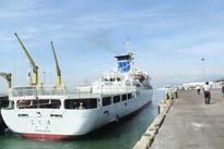 Tàu huấn luyện Kojima của Nhật Bản cập cảng Tiên Sa