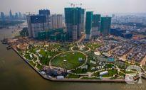 Cận cảnh công viên kiểu Mỹ ven sông trị giá 500 tỷ ở Sài Gòn