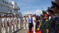 Tàu huấn luyện Kojima của Nhật Bản thăm TP Đà Nẵng