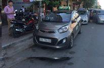 Giảm sức ép taxi ngoại tỉnh hoạt động tại Hà Nội