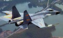 J-11 - Tiêm kích nhái Trung Quốc diễu võ dương oai ở Biển Đông