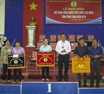 Sôi nổi Hội thao CNVCLĐ tỉnh Vĩnh Long năm 2016