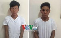 Hà Nội: Tóm gọn 2 đối tượng trộm ô tô lao thẳng vào tổ công tác CSGT