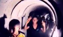 Choáng cảnh dân 'nhởn nhơ' đi lại trong hầm của khủng bố