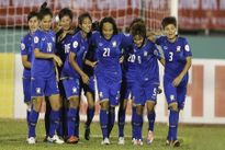 Nữ Thái Lan thắng nữ Singapore 8-0