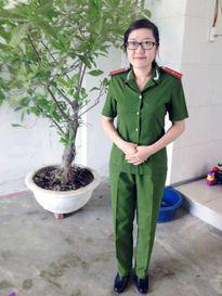 Nụ cười Đậu Thị Huyền Trâm - thiếu úy từ chối trị ung thư để cứu con