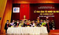 Trường ĐH Kinh tế Quốc dân trao bằng tốt nghiệp hệ chính quy năm 2016