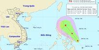 Một áp thấp nhiệt đới có thể thành bão đang hướng vào Biển Đông