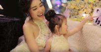 Rơi nước mắt với clip Elly Trần làm tặng con gái Cadie Mộc Trà nhân dịp sinh nhật 2 tuổi