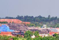 Người dân 4 xã sống khổ vì bãi rác hôi thối